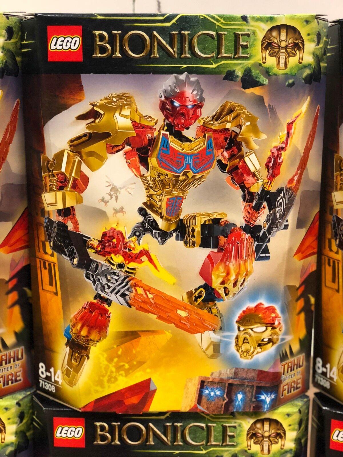 New and sealed Lego Bionicle Bionicle Bionicle Tahu uniter of fire 71308 e49120