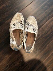 Beige Ivory Crochet Lace Slip