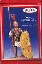 SOLDIERS MINIATURES - SR-30 - 54mm ROMAN TRIARIUS PUNIC WARS 3rd CENTURY BC.