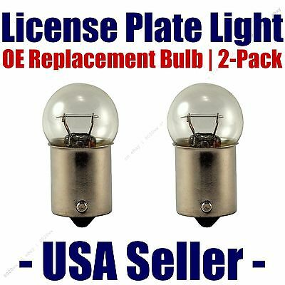 License Plate Bulb 2pk OE Replacement Fits Listed Chevrolet Vehicles d - 67