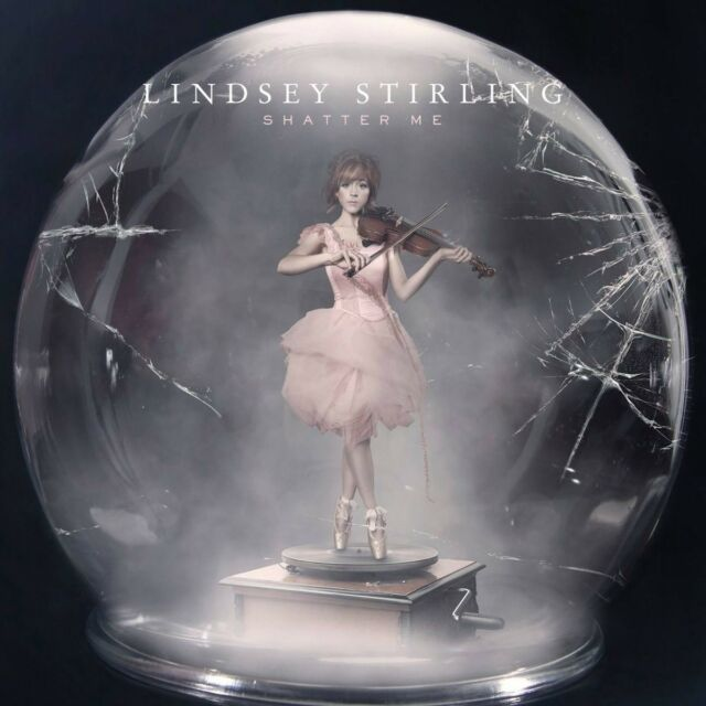 LINDSEY STIRLING - Shatter Me CD *NEW* Feat. Lizzy Hale & Dia Frampton