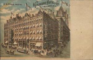 Albany-NY-Kenmore-Hotel-Co-c1905-Postcard