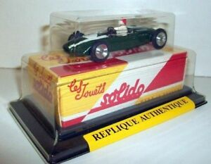 SOLIDO-1-43-1105-LOTUS-F1-1960-JOUETS-SOLIDO-REPRODUCTION