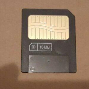 100% Vrai Genuine Fujifilm 16 Mo 3.3 V Smart Media Carte Mémoire Pour Caméras Synth Mg-16sw-afficher Le Titre D'origine Forfaits à La Mode Et Attrayants