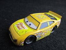 Disney Pixar Cars Racer #56 Fiber Fuel Brush Curber 1/55 Diecast vehicle