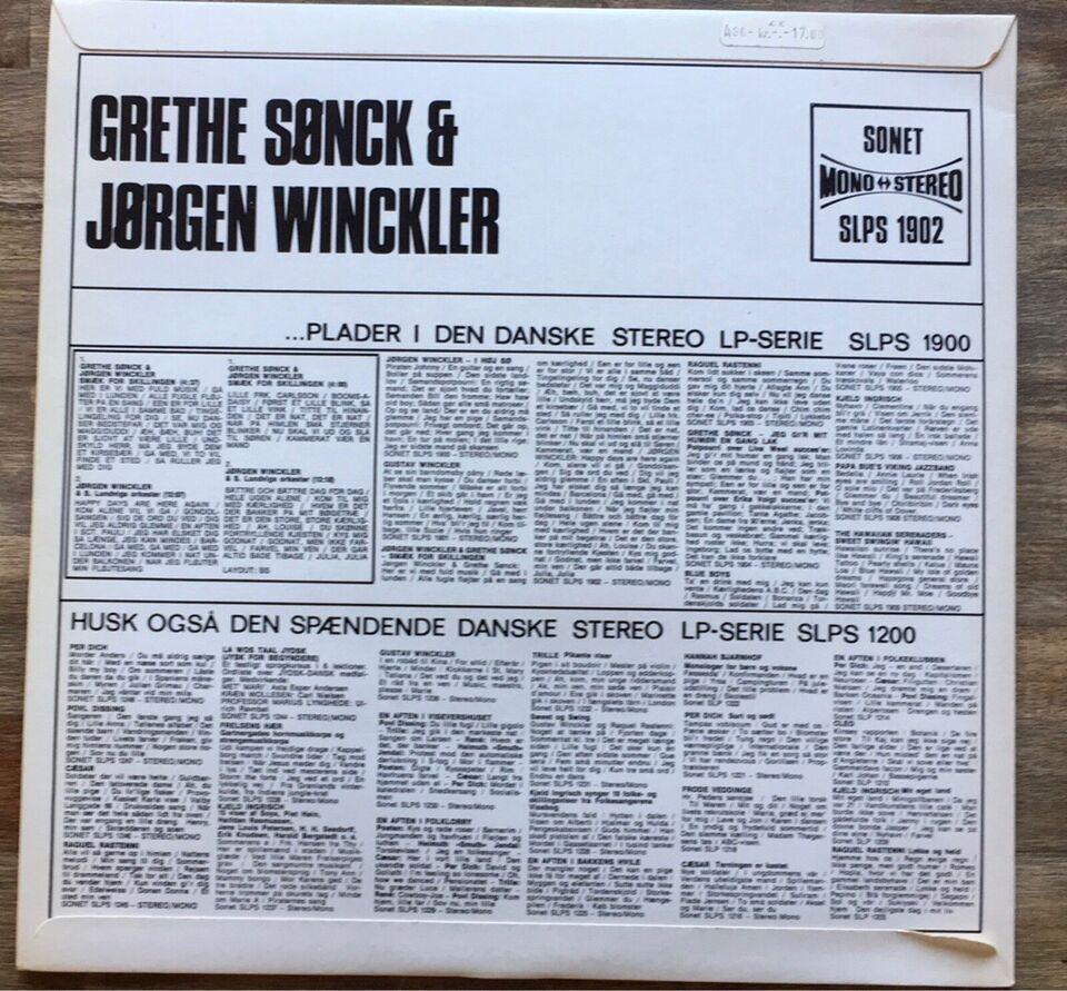 LP, Grethe Sønck & Jørgen Winckler, Smæk for skillingen