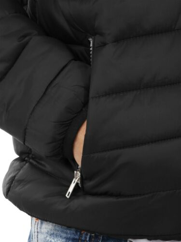 Mens Puffer Padding Jacket Light Down Ski Quilted Padded Outwear Winter Hiking