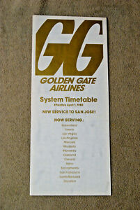 Golden-Gate-Airlines-System-Timetable-April-1-1980-With-Adjustment-Sheet