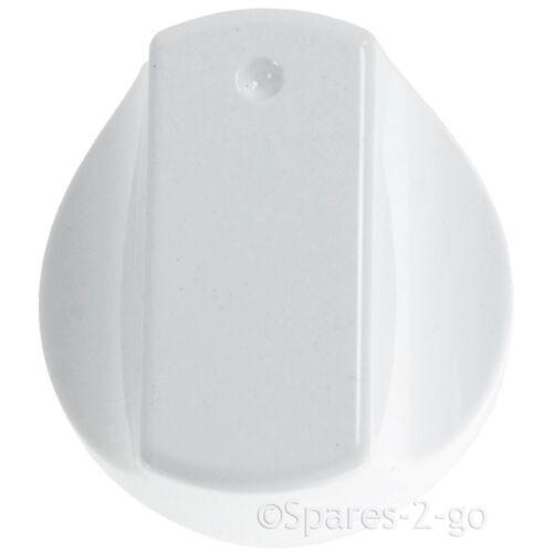 Manopola di Controllo BIANCO per Hotpoint HOT-ARI sh33 sh33w sh33ws Forno Fornello x 2