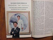 June 16, 1962 TV Guide(PAUL ANKA/DIANA MILLAY/RAYMOND MASSEY/RICHARD CHAMBERLAIN