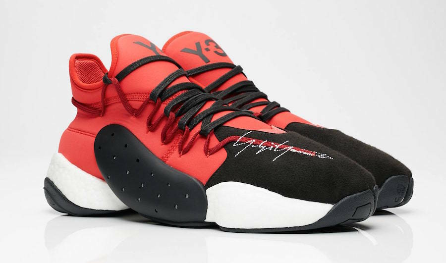 Men's Brand New Adidas Y-3 BYW BBALL Athletic Fashion Sneakers