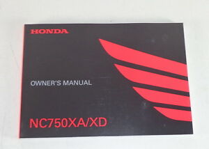 Owner-S-Manual-Controlador-S-Manual-Honda-Nc-750-Xa-Xd-Stand-2015