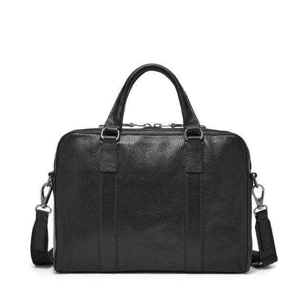 Fossil Mayfair Top Zip Workbag Black Mbg9030001