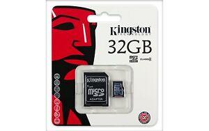 Kingston-MicroSD-Memory-Card-Class-4-For-Phone-Camera-Dashcam-Tablet-Printer