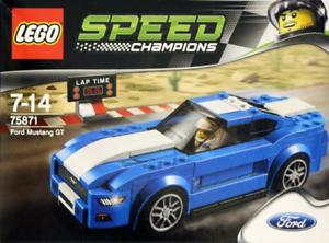 Lego VELOCIDAD CAMPEONES Ford Mustang Gt (75871) Nuevo Sellado