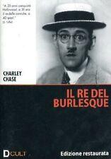 Dvd **IL RE DEL BURLESQUE** Edizione Restaurata di Charley Chase nuovo 1925