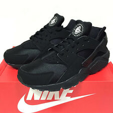 100% AUTH NIB & FREESHIP! Nike Air Huarache Triple Black 318429-003/ Multi-Sizes
