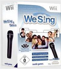 Nintendo Wii We Sing und 1 Mikro fon DEUTSCH * Neuwertig