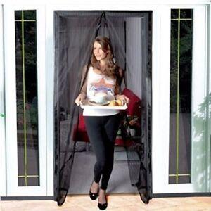 Zanzariera zanzariere con striscia magnetica per porta - Zanzariera magnetica finestra ...