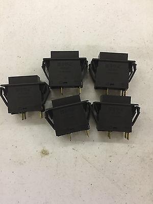 5X ETA OFF-ON SWITCH AC240V 3120-F323-P7T1-W14FB3 DC50V 14A