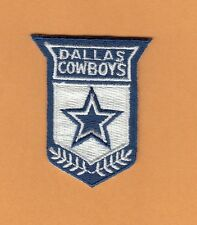 OLD DALLAS COWBOYS SHIELD LOGO PATCH UNUSED STOCK IRON ON SHIRTS HAT BABY ITEMS