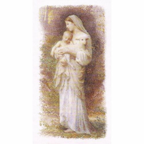 THEA GOUVERNEUR  560  The blessed Virgin Mary  Linnen  Counted cross stitch kit