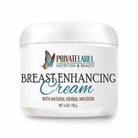 Organic Breast Enhancement Cream 4oz Natural Bust Enhancement Cream