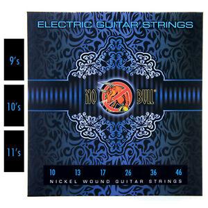nickel wound pack of electric guitar strings full set 9s 10s 11s gauge ebay. Black Bedroom Furniture Sets. Home Design Ideas