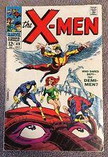 X-MEN #49 (Marvel, October 1968) Orgn Beast~1st Mesmero ~1st Polaris ~ Steranko