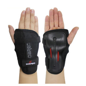 Ski-Skateboard-Snowboard-Skate-Wrist-Guards-Support-Brace-Palm-Protector-Gloves
