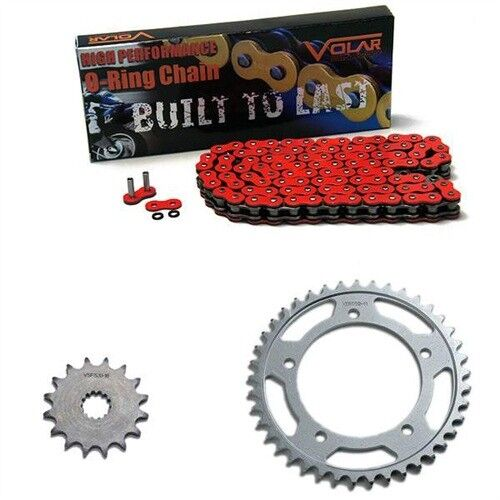 2005-2011 Triumph Speed Triple 1050 O-Ring Chain and Sprocket Kit Red