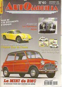 AUTOMOBILIA-40-AUSTIN-MINI-ALPINE-A110-1970-1977-HOTCHKISS-ANJOU-BREGUET-FAURE
