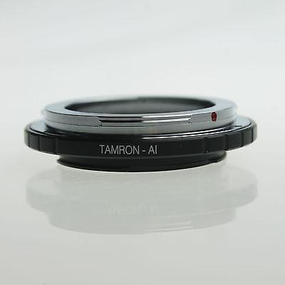 Tamron Adaptall 2 AD2 Lens to Nikon AI mount camera adapter D90 D7000 D800