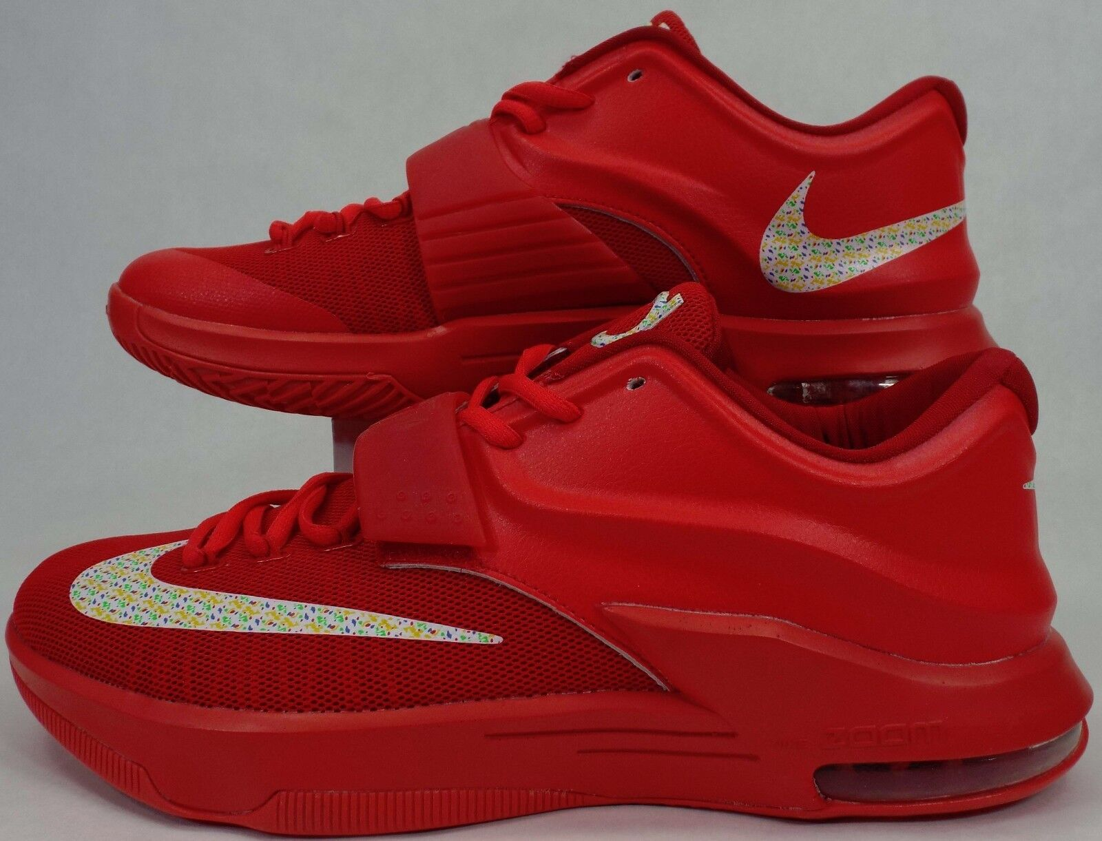 New Mens 10 Nike KD VII EP 7 Global Game Red 653997-660  200