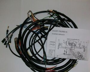 IMPIANTO-ELETTRICO-ELECTRICAL-WIRING-MOTO-DUCATI-BEVEL-750-900-SS