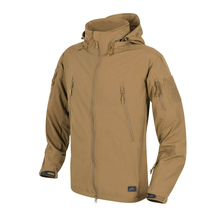 HELIKON TEX TROOPER LIGHTWEIGHT Soft Shell Outdoor Jacket JACKE COYOTE Medium