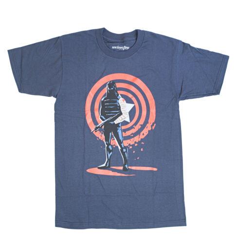 Marvel Winter Soldier Shielded Soldier Graphic T-ShirtL