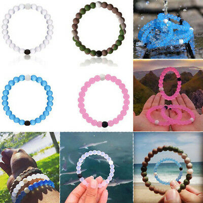 Silica Gel Beads Bracelet Mud from Dead Sea,water From MT Everest Silicone Bead