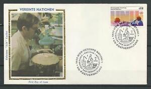 Austria-UN-Collection-Colorano-FDC-Enveloppe-Scott-49-Stamp-Mar-15-1985