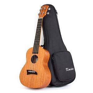 tenor 26 inch ukulele uke hawaii guitar aquila strings w bag laminated mahogany ebay. Black Bedroom Furniture Sets. Home Design Ideas