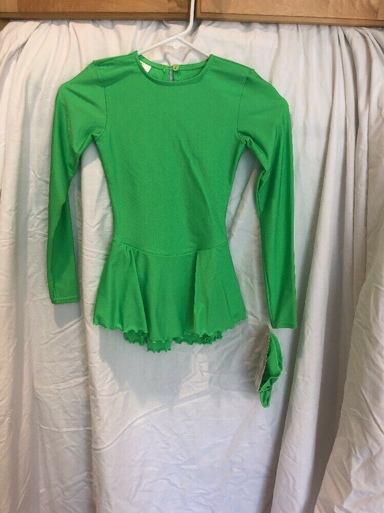Girls 4-6 Apple Green Mondor Skating Dress