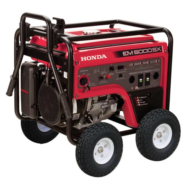 Honda Em4000sx Generator Elec Start For Sale Online Ebay