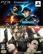 PS3 Biohazard 5 Alternative Edition Revival Selection HD Remastered Twin Pack