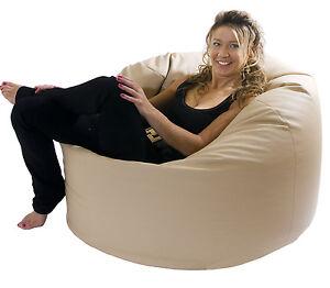 Image Is Loading Xl Beanbag Mega Classic Beanbags Huge Filled Bean