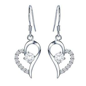 925-Sterling-Silver-Plated-Heart-Cubic-Zirconia-Crystal-Ear-Dangle-Drop-Earrings