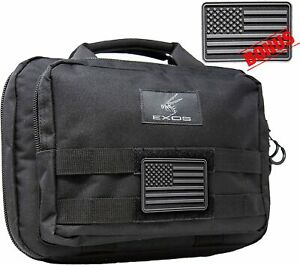 Double-Pistol-Soft-Case-Gun-Handgun-Firearm-Padded-Storage-Carrying-Bag-Pouch