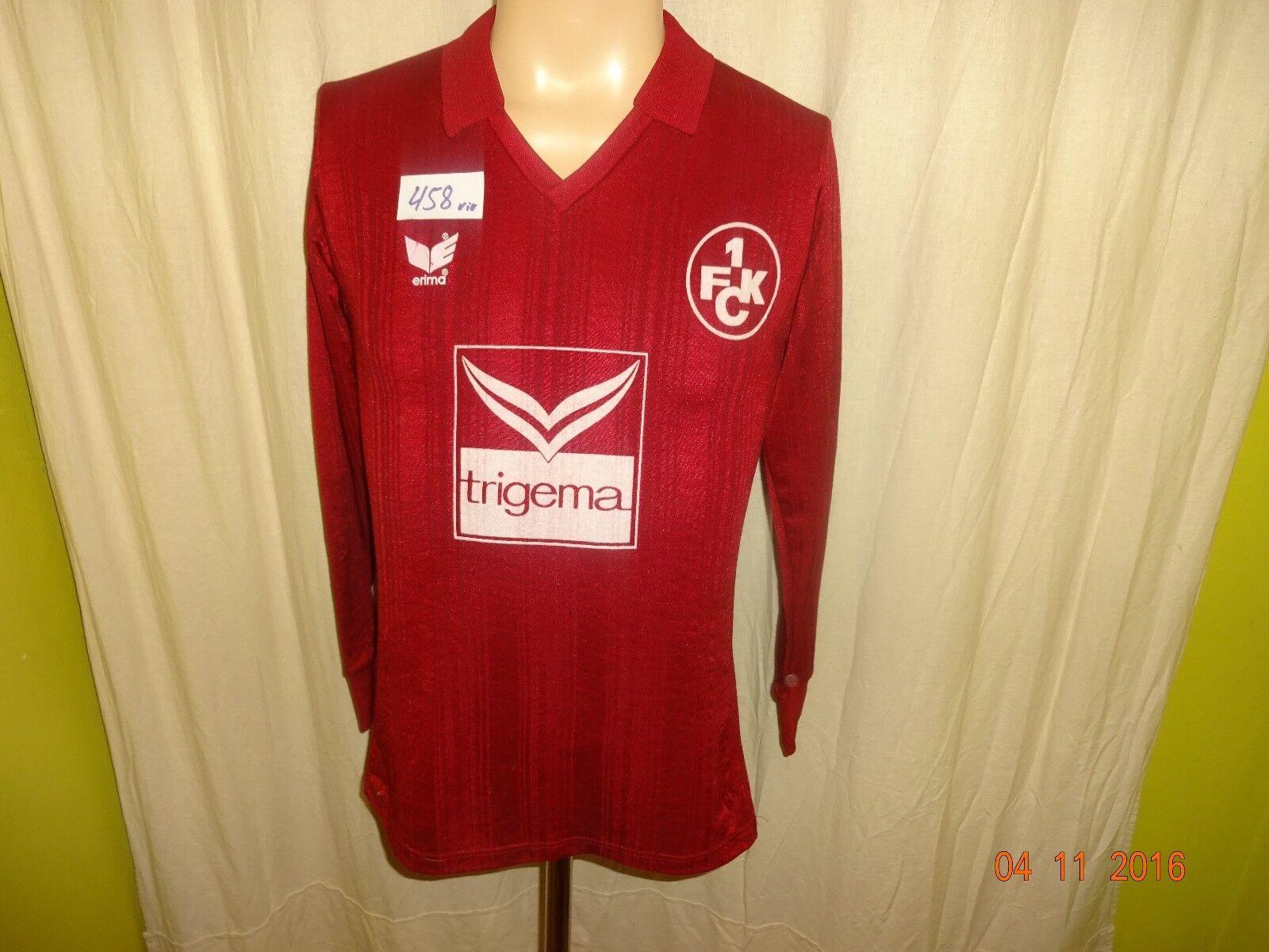 1.FC Kaiserslautern Original erima 1987/88 Langarm Trikot 1987/88 erima