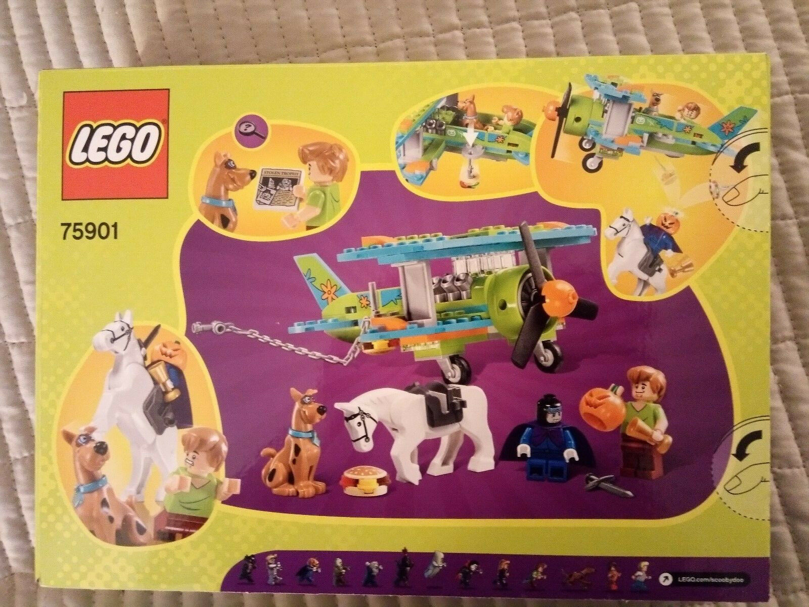 Lego Scooby Doo Doo Doo Set 75901 - Mystery Plane Adventures. Unopened.BNIB 749ed6