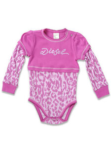 """Baby & Toddler Clothing Audacious Nwt $35 Diesel Girls """"udarlib"""" One-piece Bodysuit Pink 6m Months 6 M Regular Tea Drinking Improves Your Health Clothing, Shoes & Accessories"""