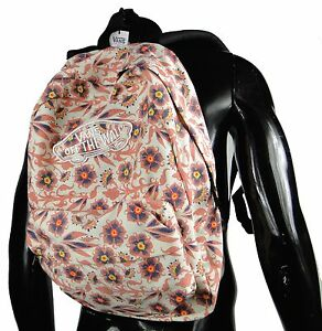 Image is loading Vans-Realm-Sun-rise-Floral-Unisex-Womens-Backpack- 61d6f455be060